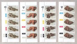 Venda 1980 Wood Carving Blocks Of Stamps MNH - Venda