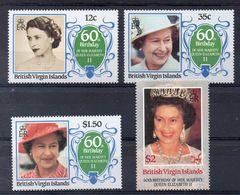 Iles VIERGES  Timbres Neufs ** De 1986  ( Ref 5154 )  Reine Elisabeth II - Iles Vièrges Britanniques