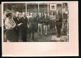 SINT AMANDSBERG   FOTO 18 X 13 CM - ST.JORISFEESTEN INGEZET MET INWIJDING BLOKHUT - Gent