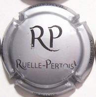Ruelle - Pertois N°1, Initiales, Gris Métallisé & Noir - Champagne