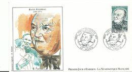 Enveloppe 1 Er Jour  58 Nevers Raoult Follereau - France