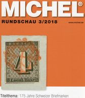 MICHEL Briefmarken Rundschau 3/2018 Neu 6€ Stamps Of The World Catalogue/magacine Of Germany ISBN 978-3-95402-600-5 - Books & Software