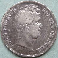 5 FRANCS 1830 LOUIS A ANCRE LOUIS PHILIPPE I - France