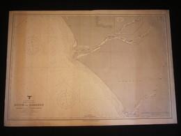 Carte Allemande Kriegsmarine, Afrique, Côte Du Cameroun, 1941, QG Kriegsmarine Ouest, Tampons Wilhelmshaven, WW2. - 1939-45