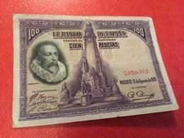 100PESETAS 1928=TTB - [ 1] …-1931 : Premiers Billets (Banco De España)