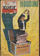 KUIFJE.  N°48.  1954.   Dekken Ondertekend GRATON. - Kuifje