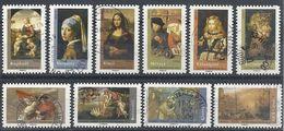 FRANCE CHEFS-D'OEUVRE 2008 N° 4132 à 4141 Oblitérés - Francia