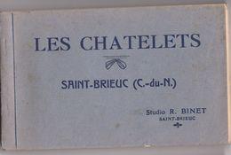 26433 Carnet Vingt 20 CP Les Chatelets Saint Brieuc -Studio Binet -complet - Saint-Brieuc