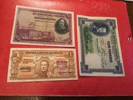 Lot De Trois Billets Voir Description - Coins & Banknotes