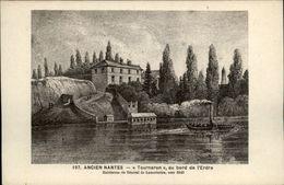 44 - NANTES - Ancien Nantes - Tourneron Au Bord De L'Erdre - Habitation Général Lamoricière - Nantes