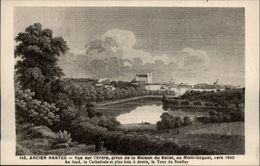 44 - NANTES - Ancien Nantes - Vue De L'Erdre - - Nantes