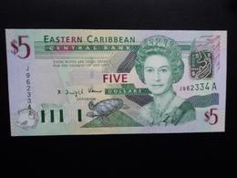 CARAIBES ORIENTALES : 5 DOLLARS  ND 2003  P 42a   NEUF - Caraïbes Orientales