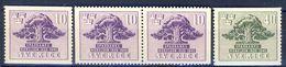 #Sweden 1945. Bank Jubilee. Michel 316-17 + PairD. MNH(**) - Ongebruikt