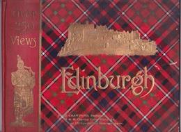 Livre EDINBURGH AND VICINITY -  ALBUM  250 VIEWS - Plan - Guide D'histoire - Architecture