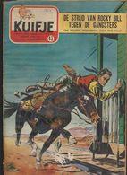 KUIFJE.  N°43.  1954.   Dekken Ondertekend FOLLET / DUVAL. - Kuifje