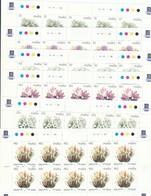 """Malta 1999 - Yt 1072/77**  In Minifogli Di 10 Stamps  """" Serie Courente. Fleurs"""" - Malta"""