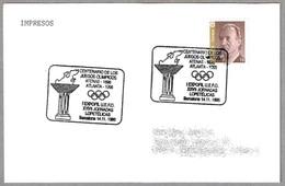 100 Años JUEGOS OLIMPICOS - ATENAS 1896 - ATLANTA 1996. Barcelona 1996 - Verano 1996: Atlanta