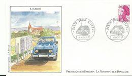 Enveloppe 1 Er Jour   La Liberté 4l - Briefe U. Dokumente