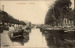 44 - NANTES - L'Erdre - Péniche - Nantes