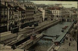44 - NANTES -   Ecluse Et Quai De L'Erdre - Belle Carte Toilée - Nantes