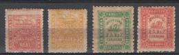 Saint Thomas La Guaira 1959 Y.T. 7,10,11,12 */MH VF/F - Stamps
