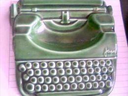 Cendrier Japy, Réplique De La Machine à écrire, Céramique - Ashtrays