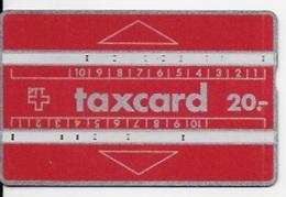 Carte Téléphonique,TAXCARD 20 - Schweiz