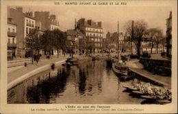 44 - NANTES - Quai Des Tanneurs - Erdre - Nantes Avant Le Sable Et Le Feu - Nantes