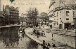 44 - NANTES - Quai Duquesne - Erdre - Nantes Avant Le Sable Et Le Feu - Nantes