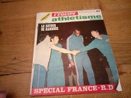 149/ L EQUIPE ATHLETISME MAGAZINE N° 39 1972 - Sport