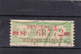 "DDR, Dienst: ZKD Nr..30 ""M""gest.  Mi. 12,- Euro (T 2819) - [6] Repubblica Democratica"