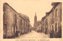 56 - MORBIHAN / 56905 - Languidic - La Rue Principale - Frankreich