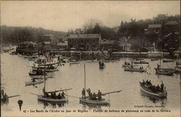 44 - NANTES - Bords De L'Erdre Un Jour De Régates - La Tortière - Nantes