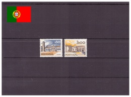 Portugal 1976 - MNH ** - Paysages - Monuments - Michel Nr. 1189yII 1190yI Série Complète (por525) - Nuevos