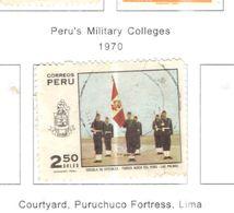 Perù PO 1970 Collegio Militare.Scott.535 Used See Scans On Scott.Pages - Perù