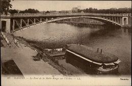 44 - NANTES - Pont De La Motte Rouge - Bateau Lavoir - Nantes