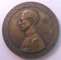 Médaille. Grand Prix De La Commune De Schaerbeek. 1936.  Diam. 50mm - Professionals / Firms