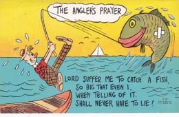 Fishing Humour The Angler's Prayer - Humour