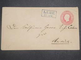 ALLEMAGNE / HANOVRE - Entier Postal De Lehe Pour Aurich - L 14803 - Hanover
