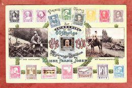 60 Jaehrige Regierungs-Jubilaeum Kaiser Franz Josef, 2 Bilder, Briefmarken, EF, Nach Hannover 1908 (48044) - Familles Royales