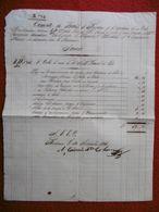LETTRE DE CHANGE PAQUEBOT BORDELAIS N° 2 CAPITAINE DUVERT VIA LA HAVANNE 1828 - Bills Of Exchange