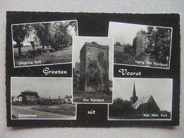P39 Ansichtkaart Groeten Uit Voorst - 1968 - Pays-Bas