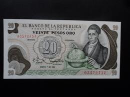 COLOMBIE : 20 PESOS ORO  1.1.1981  P 409d   SPL+ - Colombie