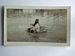 CHINA CINA Huang He Fiume Giallo Kin Kiang  Boat AK Old Postcard - China
