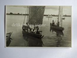 MALI KAYES AFRICA River Senegal Boat AK Old Postcard - Mali