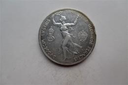 Oostenrijk , House Of Habsburg. Franz Joseph I 5 Corona 1908 60th Anniversary Of Reign. - Autriche