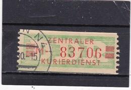 """DDR, Dienst: ZKD Nr..31 """"M"""", Gest. (T 2838) - [6] République Démocratique"""