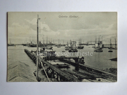 CEYLON SRI LANKA COLOMBO Kolamba HORBOUR  Fishing Boat Fisherman AK CPA Old Postcard - Sri Lanka (Ceylon)