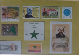 CARTE POSTALE DE L'AMITIÉ - ESPERANTO  - EDITÉ PAR FEDERATION ESPERANTISTE DU TRAVAIL - Esperanto