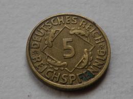 Allemagne  5 Reichspfennig 1935 J   Hambourg   Km#39  Alu Bronze TTB - 5 Reichspfennig